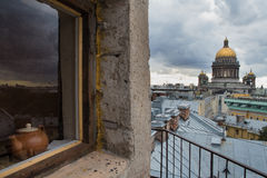 Cattedrale dell'Isaac del san Fotografia Stock Libera da Diritti