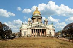 Cattedrale dell'Isaac del san a St Petersburg, Russia Fotografia Stock Libera da Diritti