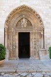 Cattedrale della basilica di Conversano. La Puglia. L'Italia. Fotografie Stock