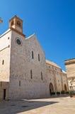 Cattedrale della basilica di Conversano. La Puglia. L'Italia. Immagine Stock Libera da Diritti