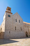 Cattedrale della basilica di Conversano. La Puglia. L'Italia. Fotografie Stock Libere da Diritti