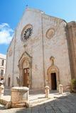 Cattedrale della basilica di Conversano La Puglia L'Italia Fotografie Stock Libere da Diritti