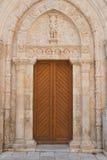 Cattedrale della basilica di Conversano La Puglia L'Italia Immagini Stock Libere da Diritti