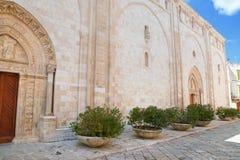 Cattedrale della basilica di Conversano La Puglia L'Italia Fotografia Stock Libera da Diritti