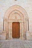 Cattedrale della basilica di Conversano La Puglia L'Italia Immagine Stock