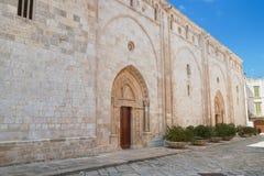 Cattedrale della basilica di Conversano La Puglia L'Italia Fotografia Stock