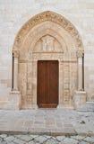 Cattedrale della basilica di Conversano La Puglia L'Italia Immagini Stock