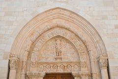 Cattedrale della basilica di Conversano La Puglia L'Italia Immagine Stock Libera da Diritti