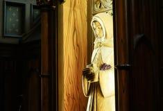 Cattedrale della basilica di Notre-Dame di Montreal fotografia stock libera da diritti