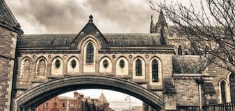 Cattedrale della chiesa del Christ a Dublino Immagini Stock