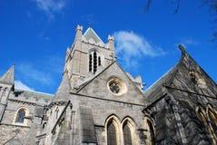 Cattedrale della chiesa del Christ - Dublino Fotografie Stock
