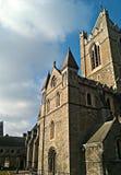 Cattedrale della chiesa di Cristo di Dublino Fotografia Stock