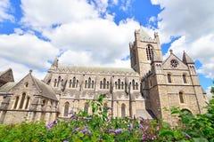 Cattedrale della chiesa di Cristo a Dublino, Irlanda Fotografie Stock