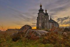 Cattedrale della chiesa di trasfigurazione fotografia stock