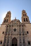 Cattedrale della città della chihuahua Immagini Stock Libere da Diritti