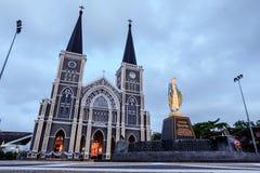 Cattedrale della concezione immacolata Fotografie Stock Libere da Diritti