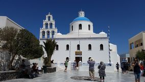 Cattedrale della Grecia Fotografie Stock Libere da Diritti