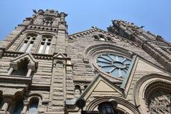 Cattedrale della Madeleine a Salt Lake City Immagini Stock Libere da Diritti