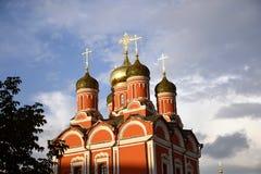 Cattedrale della madre dell'icona di Dio Fotografia Stock Libera da Diritti