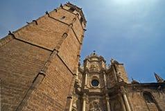 Cattedrale della Mary santa a Valencia Fotografia Stock