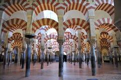 Cattedrale della moschea di Cordova, Andalusia, Spagna Immagini Stock