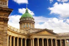 Cattedrale della nostra signora di Kazan, St Petersburg Fotografia Stock Libera da Diritti