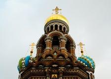 Cattedrale della risurrezione di Christ Immagini Stock