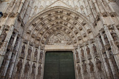 Cattedrale della Siviglia fotografia stock