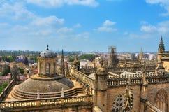 Cattedrale della Siviglia, Spagna immagini stock libere da diritti