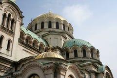 Cattedrale della st Alexander Nevsky Immagine Stock