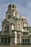 Cattedrale della st Alexander Nevsky Fotografia Stock Libera da Diritti