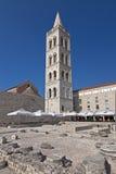 Cattedrale della st Anastasia in Zadar Fotografia Stock Libera da Diritti