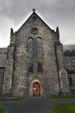Cattedrale della st Canices e torre rotonda in Kilkenny Immagine Stock