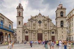Cattedrale della st Christopher Cuba, Avana immagini stock libere da diritti