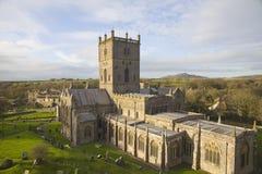 Cattedrale della st Davids Fotografia Stock