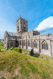 Cattedrale della st Davids nel Galles Immagine Stock Libera da Diritti