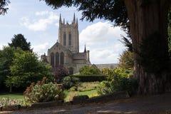 Cattedrale della st Edmundsbury Fotografie Stock