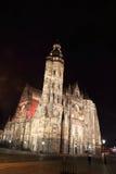 Cattedrale della st Elisabeth a Kosice, Slovacchia Fotografia Stock