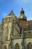Cattedrale della st Elisabeth o ¾ Kosice bety Slovacchia di AlÅ dello svätej del ³ m. di Dà fotografia stock