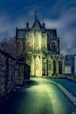 Cattedrale della st Hubert nel Belgio Immagine Stock