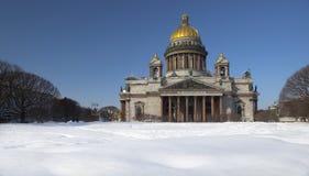 Cattedrale della st Isaac. Fotografie Stock