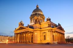 Cattedrale della st Isaac Immagini Stock