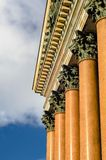 Cattedrale della st Isaac delle colonne a St Petersburg Immagini Stock