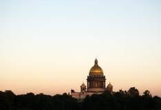 Cattedrale della st Isaac, San Pietroburgo, Russia fotografia stock libera da diritti