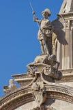 Cattedrale della st Jacob, vecchia città di Sibenik, Croatia Fotografia Stock