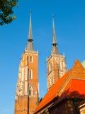 Cattedrale della st John The Baptist a Wroclaw Immagine Stock