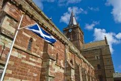 Cattedrale della st Magnus immagine stock