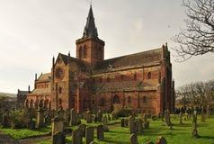 Cattedrale della st Magnus, transept del sud fotografia stock