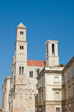 Cattedrale della st Maria Assunta Giovinazzo La Puglia L'Italia Fotografie Stock
