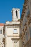 Cattedrale della st Maria Assunta Giovinazzo La Puglia L'Italia Immagine Stock